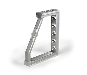 PROFIPremiumLINE Clamping and locating angle 300x250 aluminium-titanium