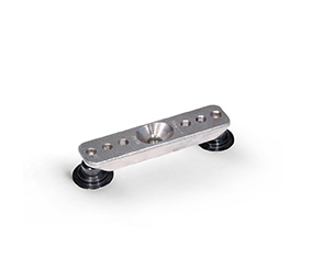 2P clamping bridge with 2 clamping pad, steel