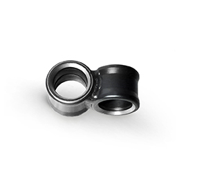 Angle bushing 90° with precision scaling