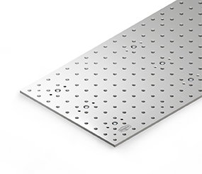 Clamping floor plate