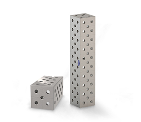 Spacer block U-form, steel / Face sides Diagonal rid