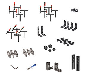PROFIEcoLINE Set 722 (System 28) with PPC bolts