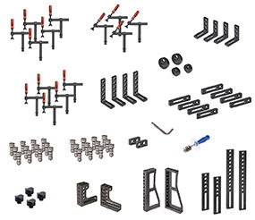 PROFIEcoLINE Set 732 (System 28) with PPC bolts